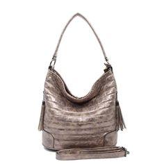 DAMEN Metallic SHOPPER Schultertasche Tasche Hobo-Bag Umhängetasche Beuteltasche: EUR 32,95End Date: 24. Apr. 04:21Buy It Now for only: US…