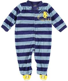 """Baby Starters """"Daddy's Lil' Guy"""" Plush Footed « Clothing Impulse"""