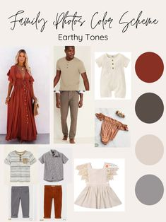 Fall Photo Outfits, Fall Family Outfits, Family Picture Outfits, Fashion Outfits, Outdoor Family Photos, Family Pictures, Family Photo Colors, Fall Color Schemes, Clothing Staples