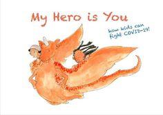 O carte de poveşti pentru a-i ajuta pe copii să facă faţă pandemiei de COVID-19, lansată de UNICEF | AGERPRES • Actualizează lumea. Kids Activity Books, Activities For Kids, Room On The Broom, The Gruffalo, Special Kids, Keeping Healthy, Hero, Manners, Seeds