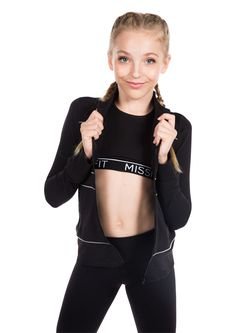 Alex Black- Tween Girl Activewear -MissBehaveGirls.com