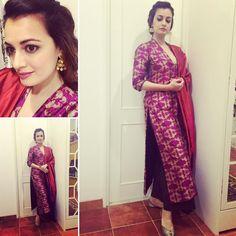 Festive Joy!  #Handcrafted #Benarasi  Loving this Payal Khandwala outfit and Gehna Jhumka's ❤️ @gehnajewellers1 @payalkhandwala