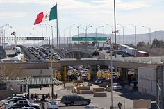 El Paso, Texas border We hired a driver to take us into Juarez, Mexico
