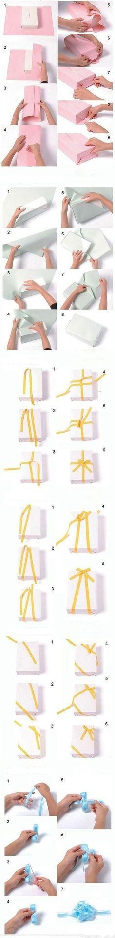 How to wrap a gift box | DIY Creative Ideas