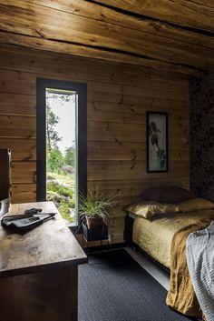 Finnlamelli Log Homes Log Homes, Bedroom, Furniture, Home Decor, Timber Homes, Decoration Home, Room Decor, Wood Homes, Bedrooms
