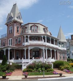 Ted and I are favorite B & B in Cape May :)))))