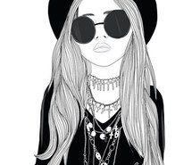 Inspirant de l'image art, dessiné, fille, esquisse, Tumblr #3075545 par Bobbym - Résolution 499x497px - Trouver…