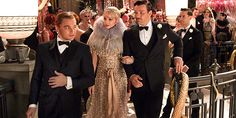 Some more stills from the highly anticipated Baz Luhrmann extravaganza, The Great Gatsby and this time we see more of Carey Mulligan, Leonardo DiCaprio, Tobey Maguire and Joel Edgerton. Jay Gatsby, Gatsby Style, 1920s Style, The Great Gatsby Movie, Great Gatsby Fashion, Great Gatsby Party, Carey Mulligan, Joel Edgerton, Scott Fitzgerald