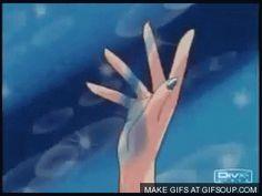 Sailor Moon - Sailor Mercury star power  Transformation  GIF