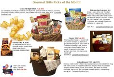 Gourmet Gifts has been providing unique gifts with very affordable prices in San Francisco and all over the United States and abroad. Gourmet Gifts products include gift baskets, chocolates and fruit gifts, spa and pamper gifts, sports & kids gifts, wedding, pets, and themed jewelry gifts. Gourmet Gifts also offers event planning, reminder, printing and packing services, and much more...