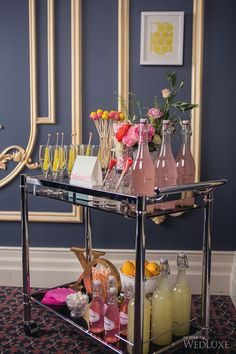 """Awesome """"bar cart decor inspiration"""" information is available on our internet site. Check it out and you wont be sorry you did. Diy Bar Cart, Gold Bar Cart, Bar Cart Styling, Bar Cart Decor, Bar Carts, Drink Cart, Home Bar Decor, Metal Tree Wall Art, Food Trucks"""