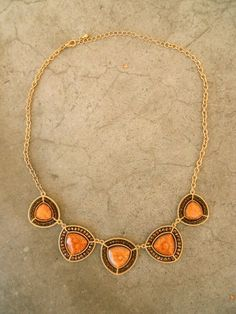 Autumn Field Necklace [3296] - $22.00 : Vintage Inspired Clothing