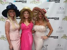 """The Sixth Annual """"Run For the Roses"""" Kentucky Derby Party honors Holly Harwood Skolkin and benefits the Holly Rose Ribbon Foundation. The event will feature complimentary mint juleps, derby-tinis, Mo's . Run For The Roses, Derby Day, Dapper Gentleman, Southern Belle, Reality Tv, Kentucky Derby, Fascinator, Nice Dresses, Houston"""