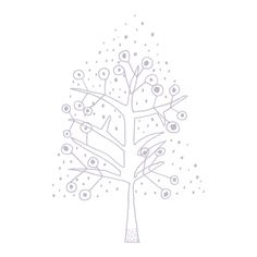 Jane Reiseger Christmas Tree - from the Wall Decal Company.