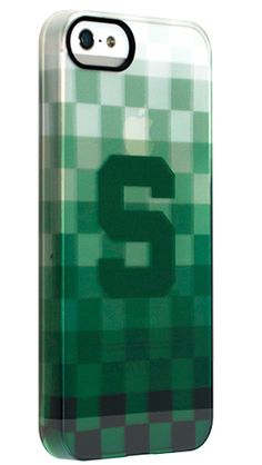 """""""Michigan State Pixel Stripe"""" by Uncommon for the iPhone 5 Permafrost™ UN Deflector need it in the 4s version"""
