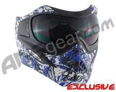 V-Force Grill Paintball Mask - Nightmare Blue Bowling Ball, Golf Ball, Golf Tiger Woods, V Force, Paintball Gear, Airsoft Mask, Frat Coolers, Big Guns, Golf Humor