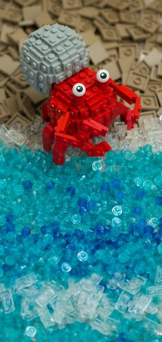 Hermie the Hermit Crab | My second Lowell Sphere creation. I… | Flickr