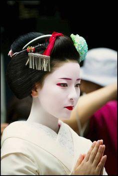 Maiko. #japan #geisha
