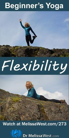 Want to be more flexible? New to yoga? Check out this beginner episode of Namaste Yoga for flexibility. http://www.melissawest.com/273/