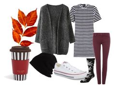 """""""27"""" by hermanrizek on Polyvore featuring T By Alexander Wang, 7 For All Mankind, Henri Bendel, SCHA, Converse and HUF"""