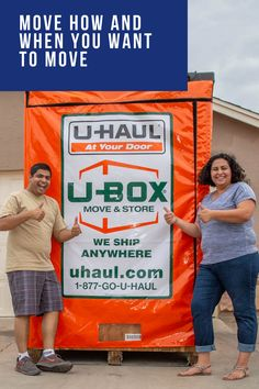 It's your move. Take control of the schedule with U-Box containers. Moving Supplies, Packing Supplies, Moving Containers, Small Colleges, Planning A Move, Temporary Storage, Free Move, Back Hurts, Packing Services