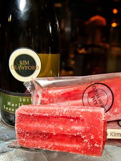 Wine popsicles? :o Why yes please.