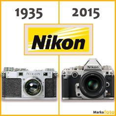 Geçmişten günümüze Nikon fotoğraf Makinesi. MarkaFoto.com #nikonTürkiye #MarkaFoto #Fotoğraf Makinesi #NikonFotoğraf