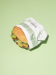 Shake Shack Cheeseburger for Bloomberg Businessweek, 2015
