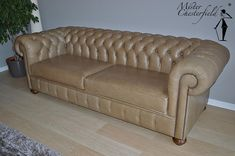 Kingston Forrest Chesterfield in Old english parchment.