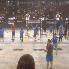 Crossfit Athens through down 2015 games