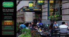 Emerald Loop. Fun place to eat.