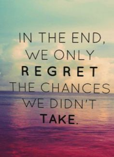 Make each day count so there's No regrets in 2015 !! Have fun everybody ! Wooohooo