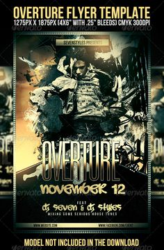 Overture Flyer Template