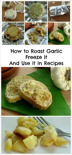 Want an easy way to add healthy flavor to your next recipe? Follow these tips on how to roast garlic cloves, freeze them and use them in your dinner tonight. By @DinnerMom