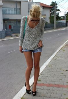 body, legs, blonde, girl, thin - Want to save 50% - 90% on women's fashion? Visit http://www.ilovesavingcash.com.