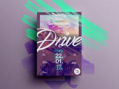 Mind blowing posters – Muzli -Design Inspiration