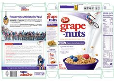 Grape-Nuts and USA Cycling unveil specially designed cereal box
