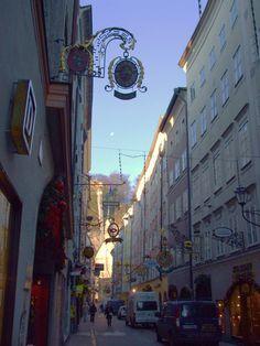 Street Scene-Salzburg