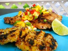 1000+ images about Jerk on Pinterest | Jerk chicken, Mango salsa and ...