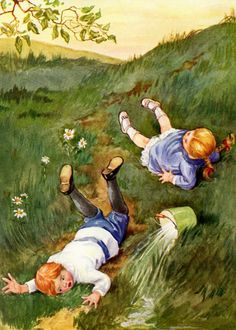 7 Surprisingly Morbid Backstories Of Classic Nursery Rhymes Three Blind Mice, Classic Nursery Rhymes, A Writer's Life, Humpty Dumpty, Jack And Jill, Fairytale Art, The Kingdom Of God, Children's Literature, Bedtime Stories