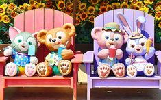 Duffy The Disney Bear, Macaron, Disneyland, Clay, Disney Stuff, Christmas Ornaments, Friends, Holiday Decor, Parks