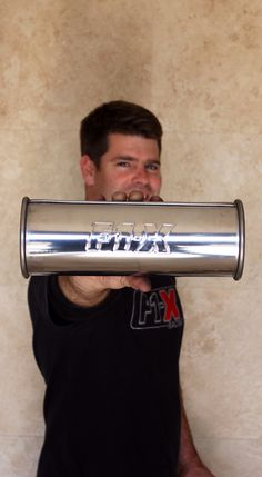 Stainless steel exhaust  canister exhaust by www.f1-x.co.za