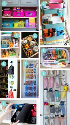 Amazing lunch box hacks & ideas that make packing your kids' school lunches a breeze. Tips & tricks to get organized for back to school with meal prep & more. School Lunch Prep, Cold School Lunches, Prepped Lunches, School Lunch Organization, Kindergarten Lunch, Snack Station, Clever Kitchen Storage, Snack Hacks, Ketogenic Diet