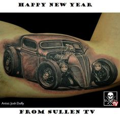 Happy #NewYear from your friends at #SullenTV Sullen TV  WATCH & SUBSCRIBE:  http://www.youtube.com/SullenTV Follow Facebook: www.facebook.com/SullenTV  Follow Blog:  http://sullentv.tumblr.com/ #sullentv #sullen #tattoos #tattoo #tattooed #art #ink #artist #realistic #realism #sullenclothing