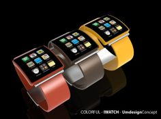 COLORFUL IWATCH CONCEPT - UMDESIGN