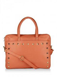 Cupidity Studded Laptop Bag buy from koovs.com
