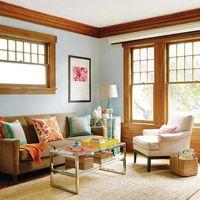 Golden Oak On Pinterest Oak Trim Craftsman And Leaded