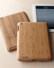 Bamboo Ipad Case - www.horchow.com