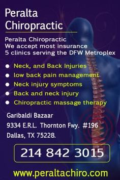 Peralta Chiropractic, Dallas TX