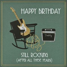 Image result for happy birthday to guitar player